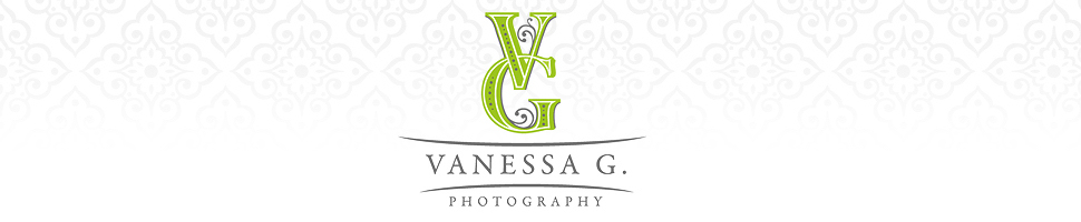 Newborn Photographer Wilmington NC Fayetteville | Vanessa G. Photography logo